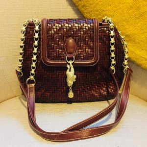•Barry Kieselstein-Cord• Leather Shoulder Bag